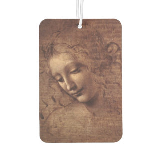 Female Head La Scapigliata by Leonardo da Vinci Air Freshener