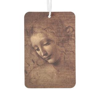 Female Head La Scapigliata by Leonardo da Vinci