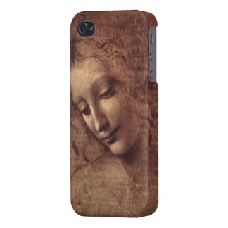 Female Head La Scapigliata by Leonardo da Vinci Cover For iPhone 4