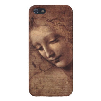 Female Head La Scapigliata by Leonardo da Vinci Cover For iPhone SE/5/5s