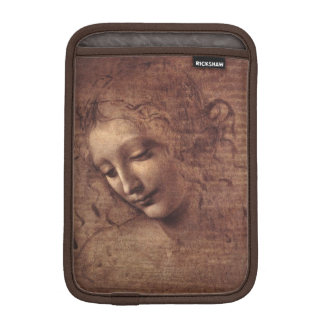 Female Head La Scapigliata by Leonardo da Vinci iPad Mini Sleeve