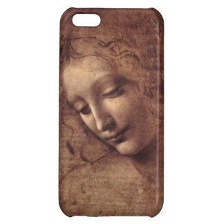 Female Head La Scapigliata by Leonardo da Vinci iPhone 5C Cases