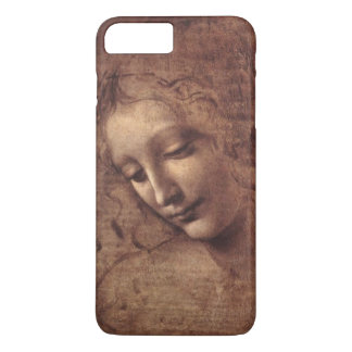 Female Head La Scapigliata by Leonardo da Vinci iPhone 7 Plus Case