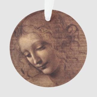 Female Head La Scapigliata by Leonardo da Vinci Ornament