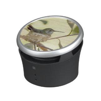 Female hummingbird on her nest bluetooth speaker