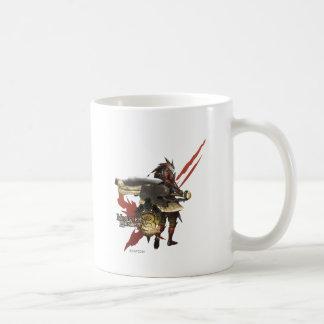 Female Hunter with Switch Axe, Rathalos Armor Coffee Mug