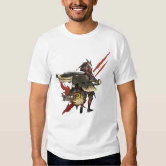 Female Hunter with Switch Axe, Rathalos Armor T-Shirt