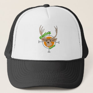 Female hunters trucker hat