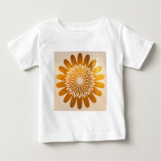 Female Icon Symbol : Golden Sunflower Energy Baby T-Shirt