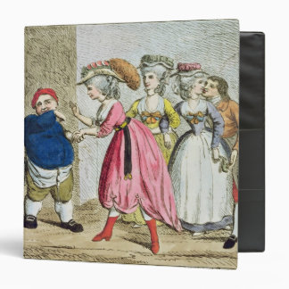 Female Influence, or the Devonshire Canvas Binder