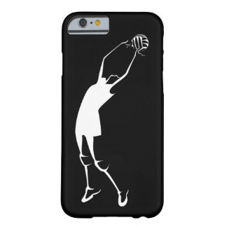 Female Jump Set Volleyball Player Barely There iPhone 6 Case