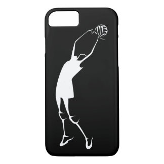 Female Jump Set Volleyball Player iPhone 7 Case