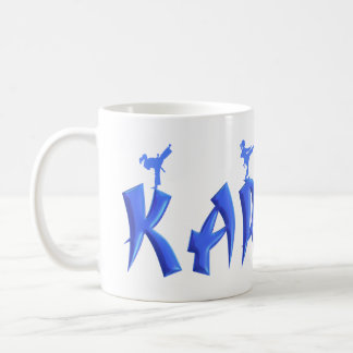 FEMALE KARATE COFFEE MUG