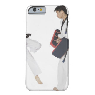Female karate instructor teaching martial arts barely there iPhone 6 case