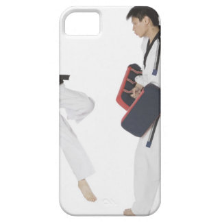 Female karate instructor teaching martial arts iPhone SE/5/5s case