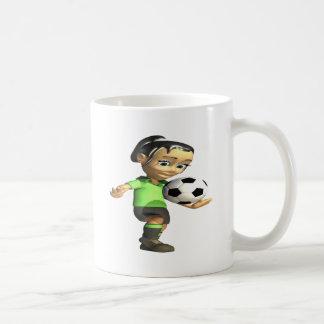 Female Knee Bounce Coffee Mug