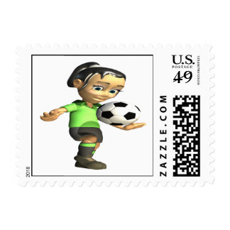 Female Knee Bounce Stamp
