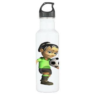 Female Knee Bounce Water Bottle