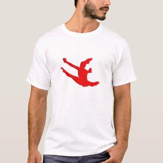 Female Leaping Splits T-Shirt