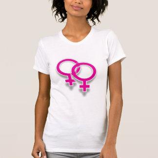Female Lesbian Love Symbol Shirt