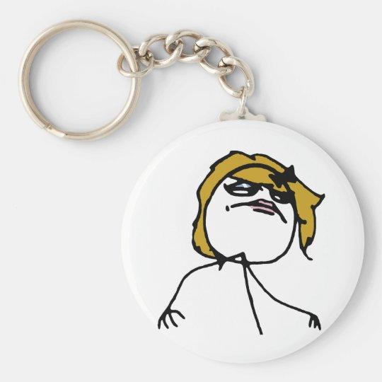 Female Like a Boss Keychain