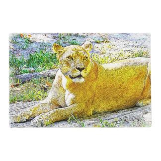 Female Lion Placemat