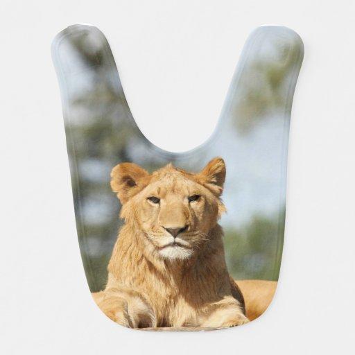 Female Lion Bibs