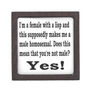 Female Lisp Jewelry Box
