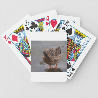 Female Mallard Bicycle Playing Cards