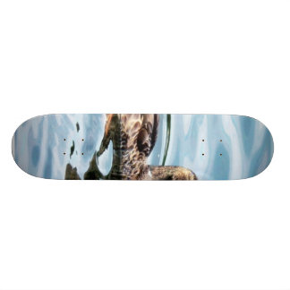 Female Mallard Skateboard Deck