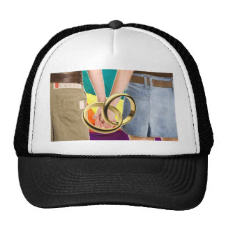 Female Marriage Mesh Hats