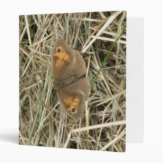 Female Meadow Brown Butterfly Photo Album 3 Ring Binder