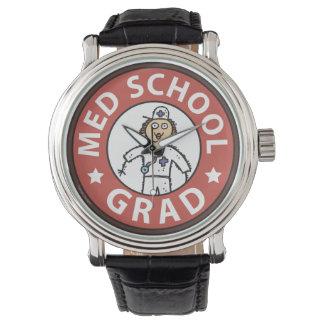 Female Medical School Graduation Wrist Watch