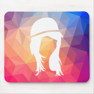 Female Models Graphic Mouse Pad