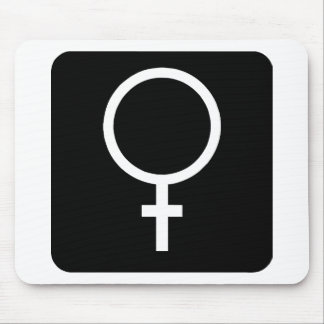 Female Mouse Pad