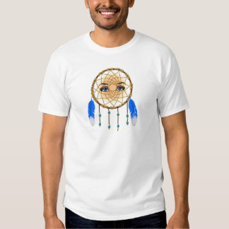 Female Native American Kokopelli Dream Catcher T-Shirt