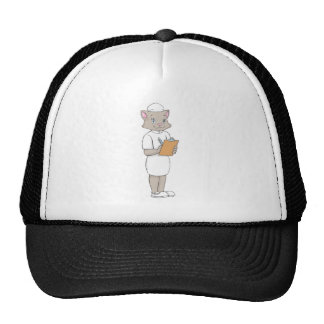 Female Nurse Cat Trucker Hat