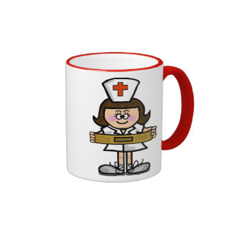 Female Nurse Mug  Customize It!