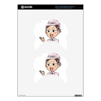 Female Nurse Xbox 360 Controller Decal