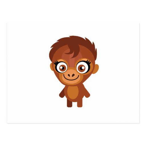 Female Orangutan - My Conservation Park Postcard