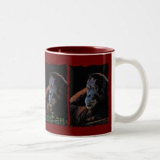 Female Orangutan Wildlife-supporter Mug