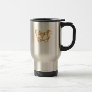Female Pelvis Travel Mug