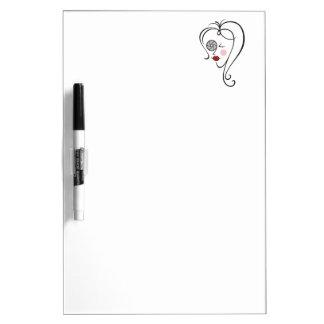 Female Photographer Dry-Erase Boards