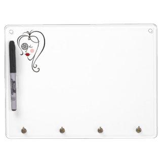 Female Photographer Dry-Erase Board