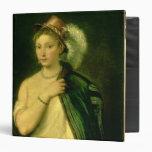Female Portrait, c.1536 3 Ring Binder