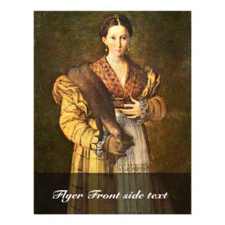 """Female Portrait Called """"Lâ € ™ Antea"""" """""""" By Parmig Flyer"""