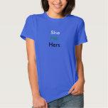 Female Pronoun Neutrois T-shirt