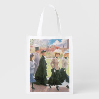 Female pupils for Confirmation Grocery Bag