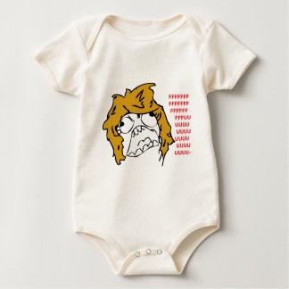 Female Rage Baby Bodysuit