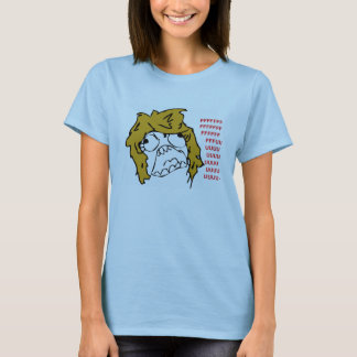 Female Rage Face T-Shirt